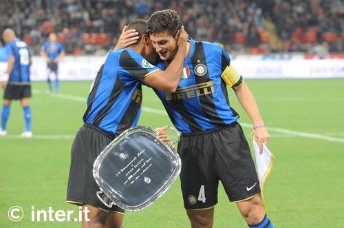 Inter and Zanetti: 600 times together