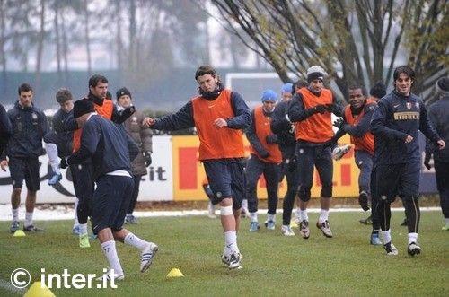 Photos: preparing for Chievo
