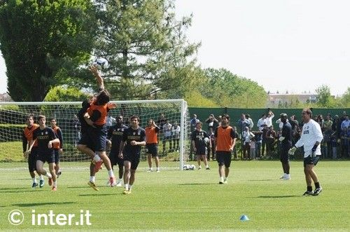 Foto: verso Inter-Lazio, la rifinitura
