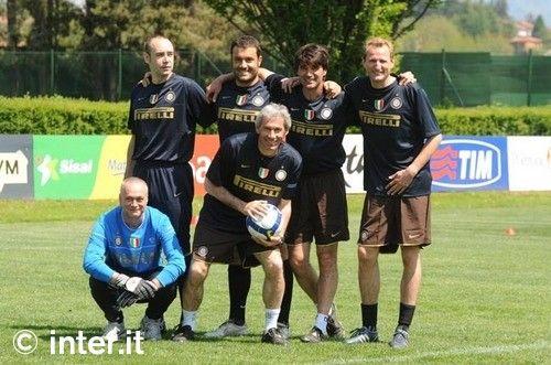 Foto: Mourinho, portiere e goleador