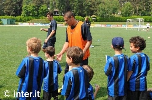 Photos: Nerazzurri, grown and little ones