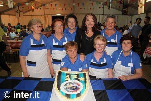 Inter Club: Bedy Moratti all'IC Cornaredo