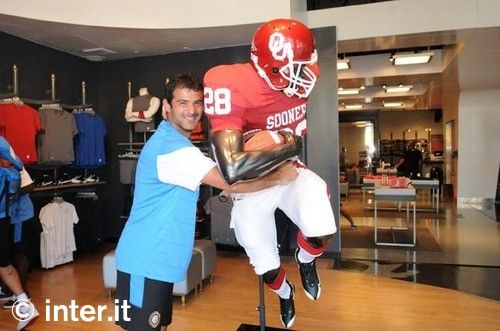 Photos: fun and games at Nike Town