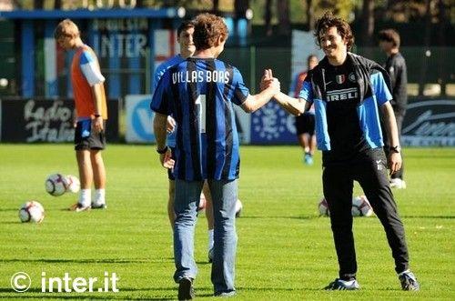 Photos: Inter bids farewell to Andrè Villas Boas