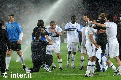 Foto: nerazzurri in finale di Champions