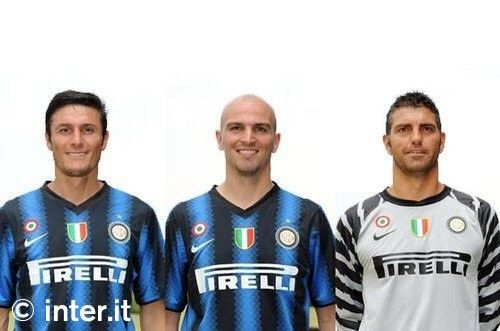 Inter Nike Unveil New Home Shirt For 2010 11 News