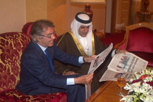 Photos: Massimo Moratti visits Bahrain
