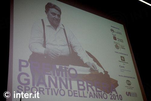 Photos: Inter win Gianni Brera award