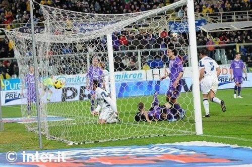Fiorentina 1-2 Inter: Pazzini clinches it
