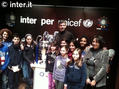 Inter Campus per UNICEF: la Champions per te!