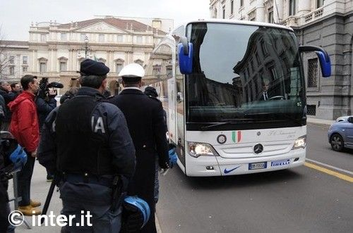 Foto: la squadra a Palazzo Marino