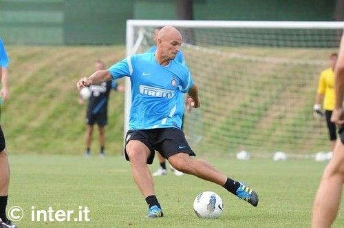 Photos: Appiano and the Nerazzurri at work