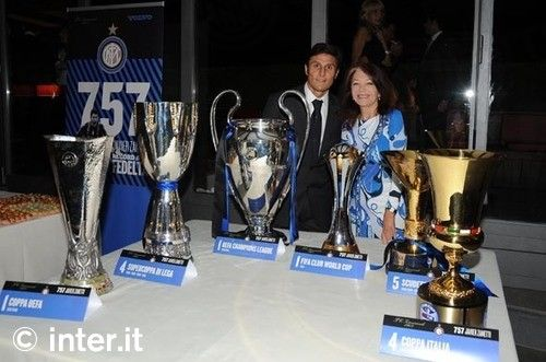 Photos: Zanetti 757, numbers, records and trophies