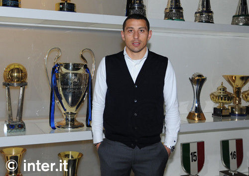 Foto: Palombo, benvenuto all'Inter
