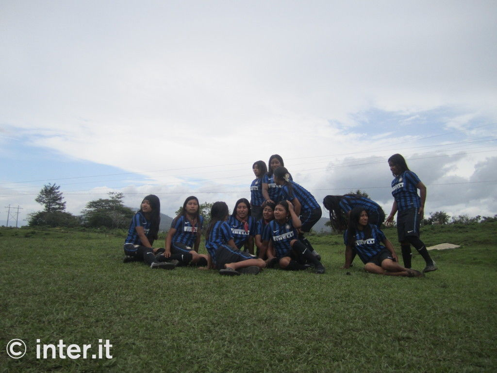 Foto: con Inter Campus in Chiapas
