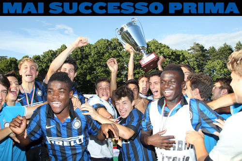 Inter Youth Sector: never before