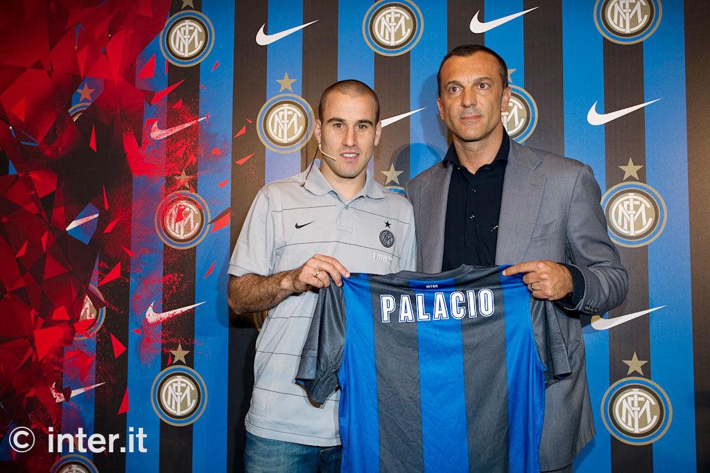 Foto: con Inter e Nike, Palacio si presenta