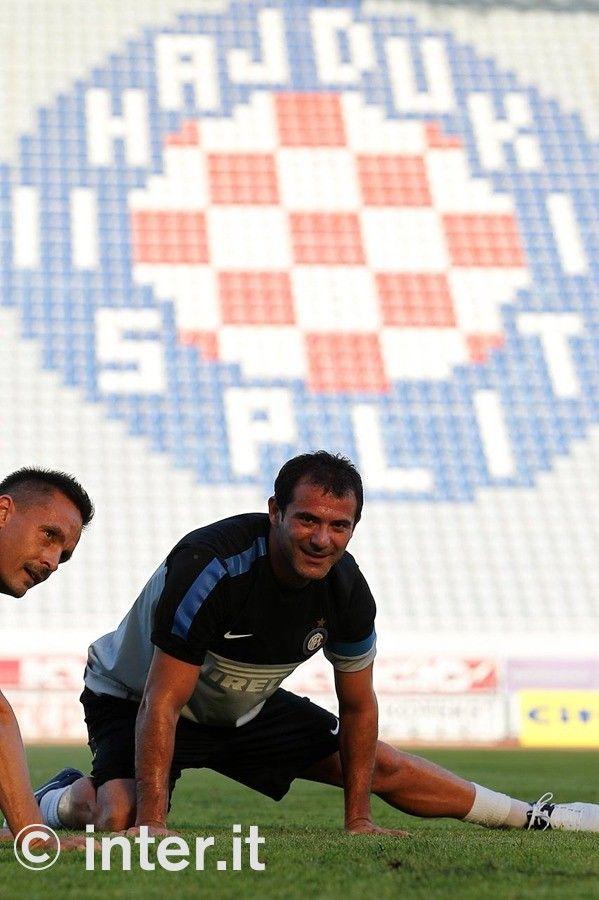 Photos: light training in Split