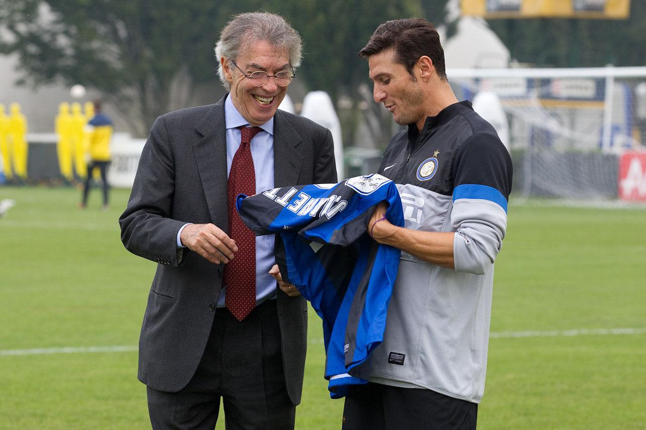 Photos: to Javier 'Superman' Zanetti