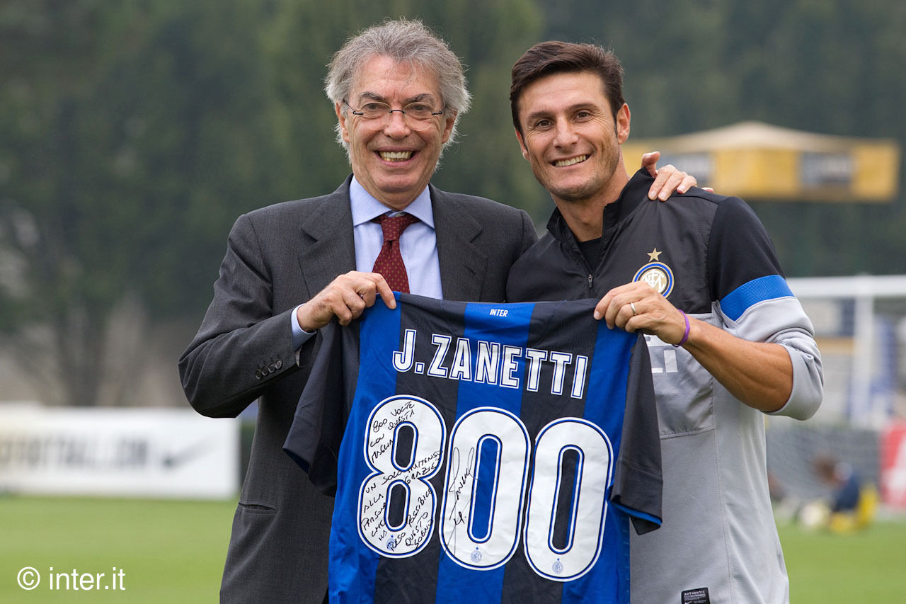 2012 Special: Zanetti, 800 games and counting