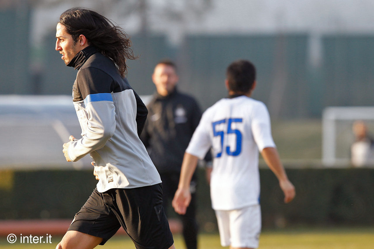 Photos: Schelotto with Inter in Appiano