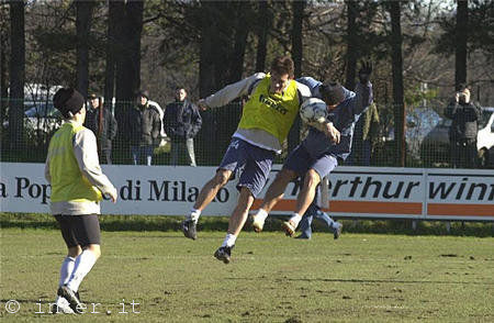 NERAZZURRI IN ACTION AT PINETINA - MORE PHOTOS