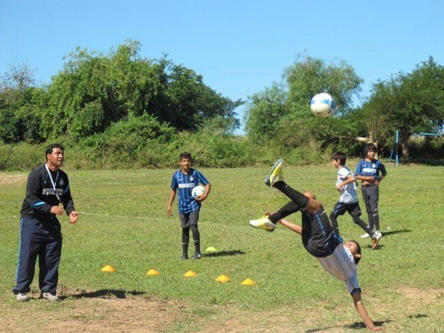 Inter Campus Paraguay with Julio Gonzalez