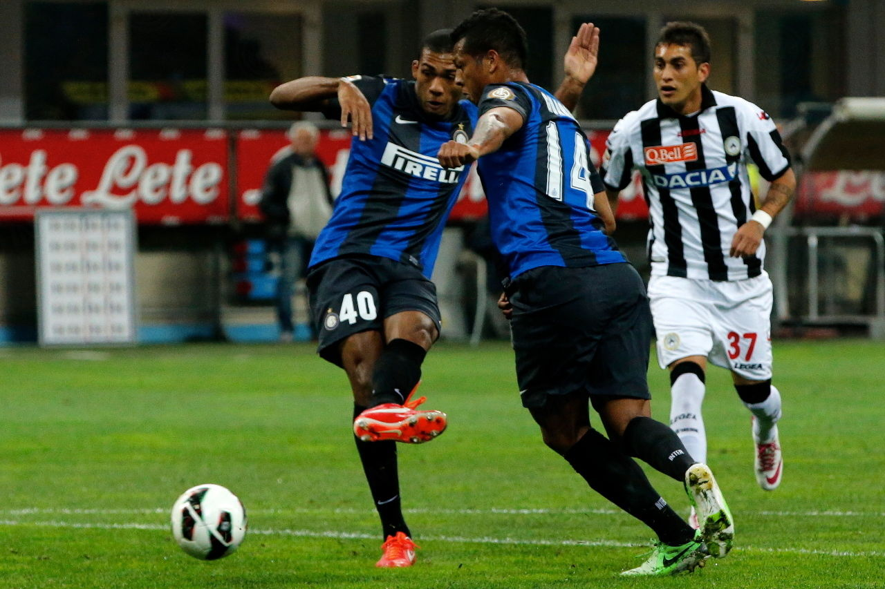 Inter v Udinese in pictures