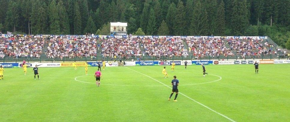 Inter 3-0 Trentino Team, Palacio, Capello and Alvarez on the scoresheet