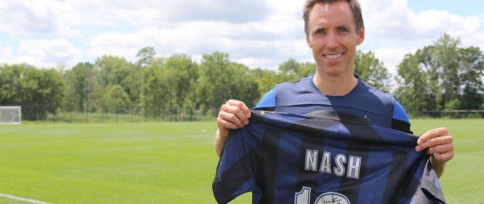"""Steve Nash a Inter Channel """"In campo con l'Inter, un sogno che si realizza"""""""