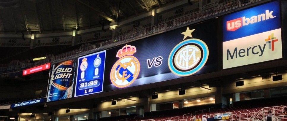 Susunan pemain laga Inter vs Real Madrid