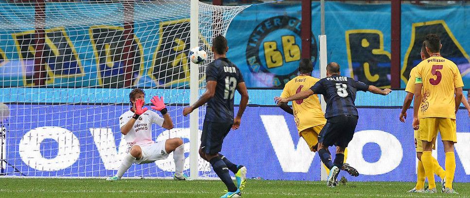 Coppa Italia, Inter 4-0 Cittadella