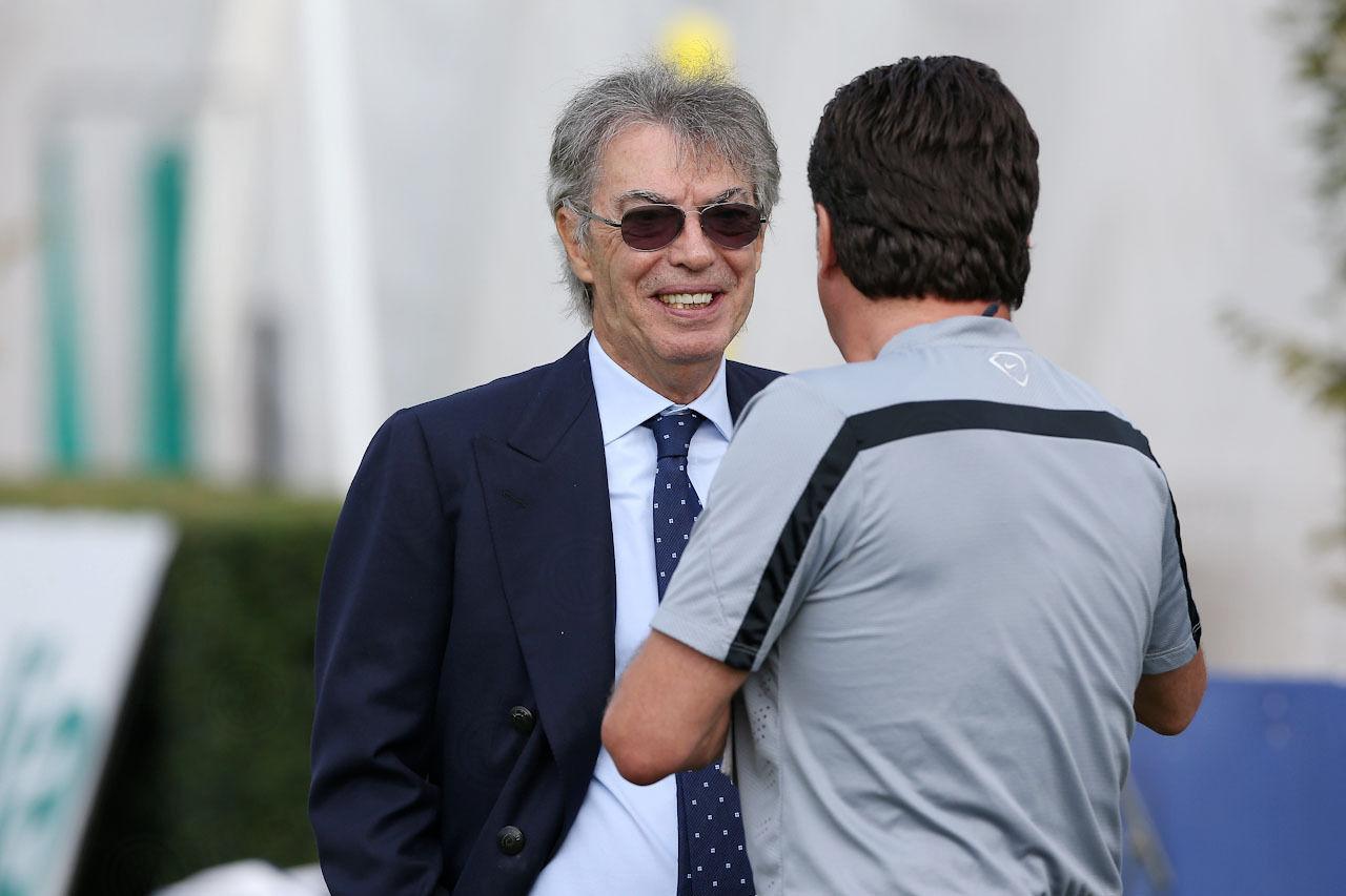 Verso il Sassuolo con il presidente Moratti. Le immagini esclusive
