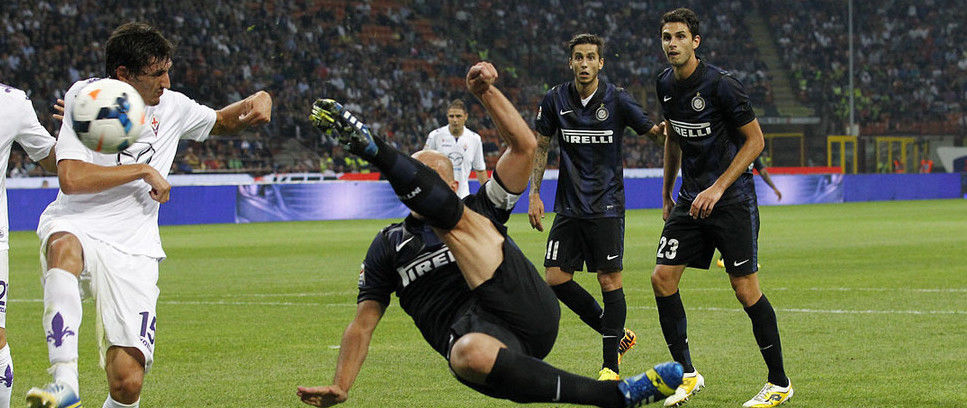 Cambiasso dedicates stunning equaliser to newborn son and family