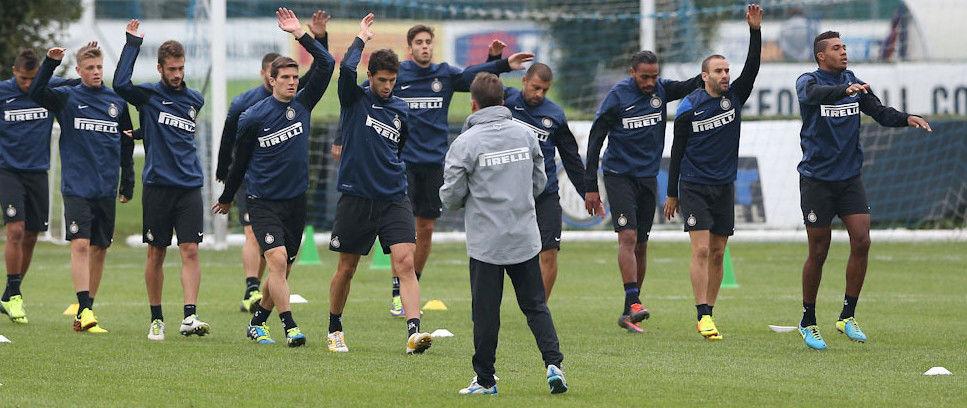 Inter-Roma, 22 nerazzurri convocati