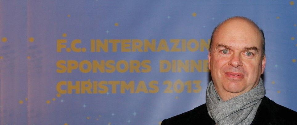 Marco Fassone speaks at Sponsors' Christmas Dinner