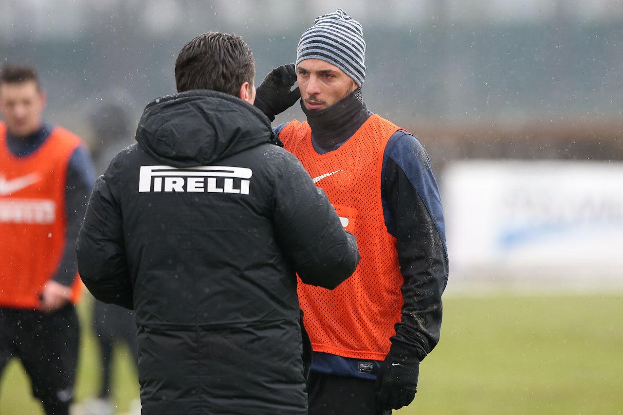 D'Ambrosio e l'Inter, in campo verso la Juventus