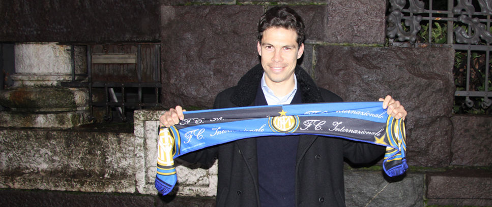 Welcome to Inter, Hernanes!