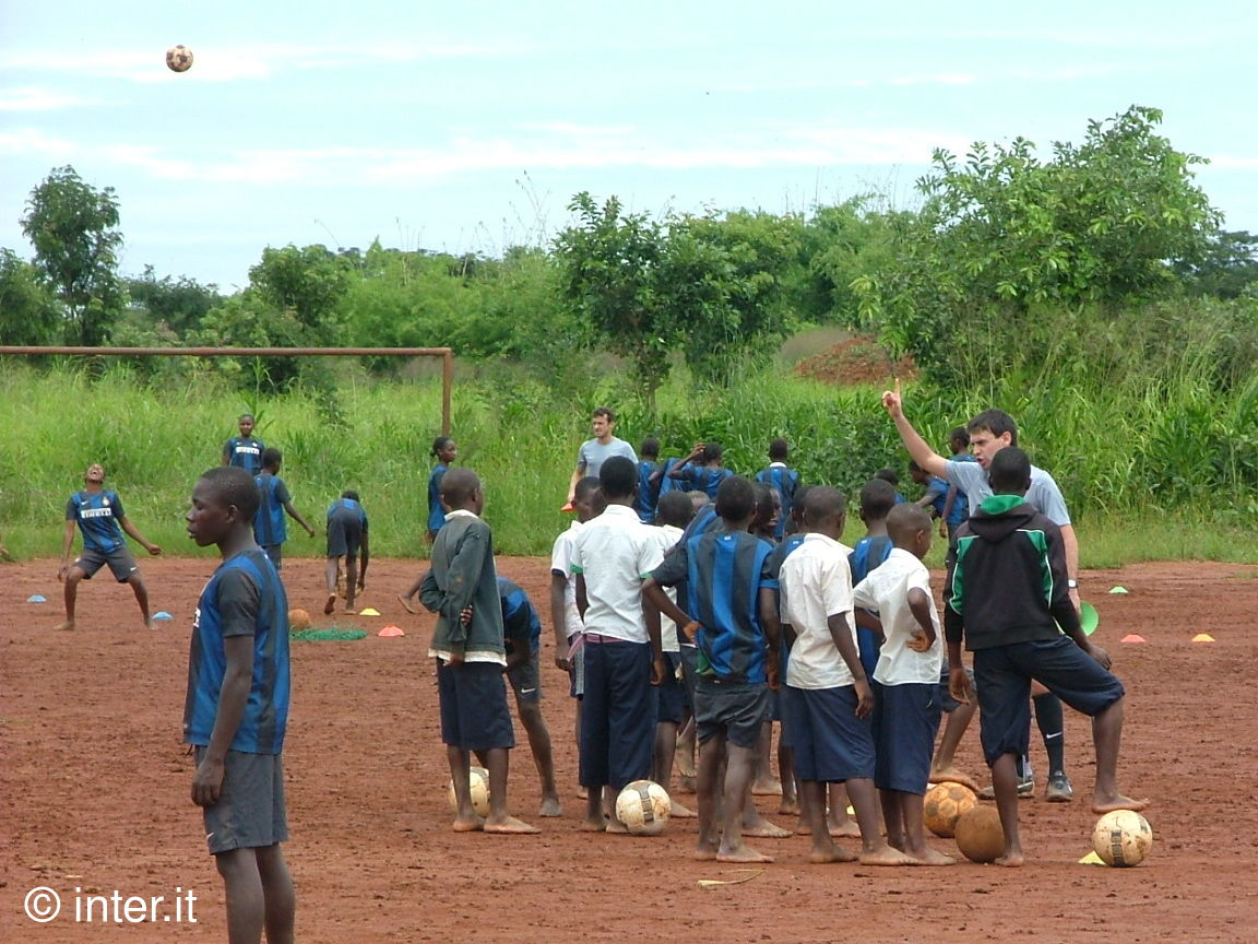 The joy of playing with Inter Campus in Lubumbashi