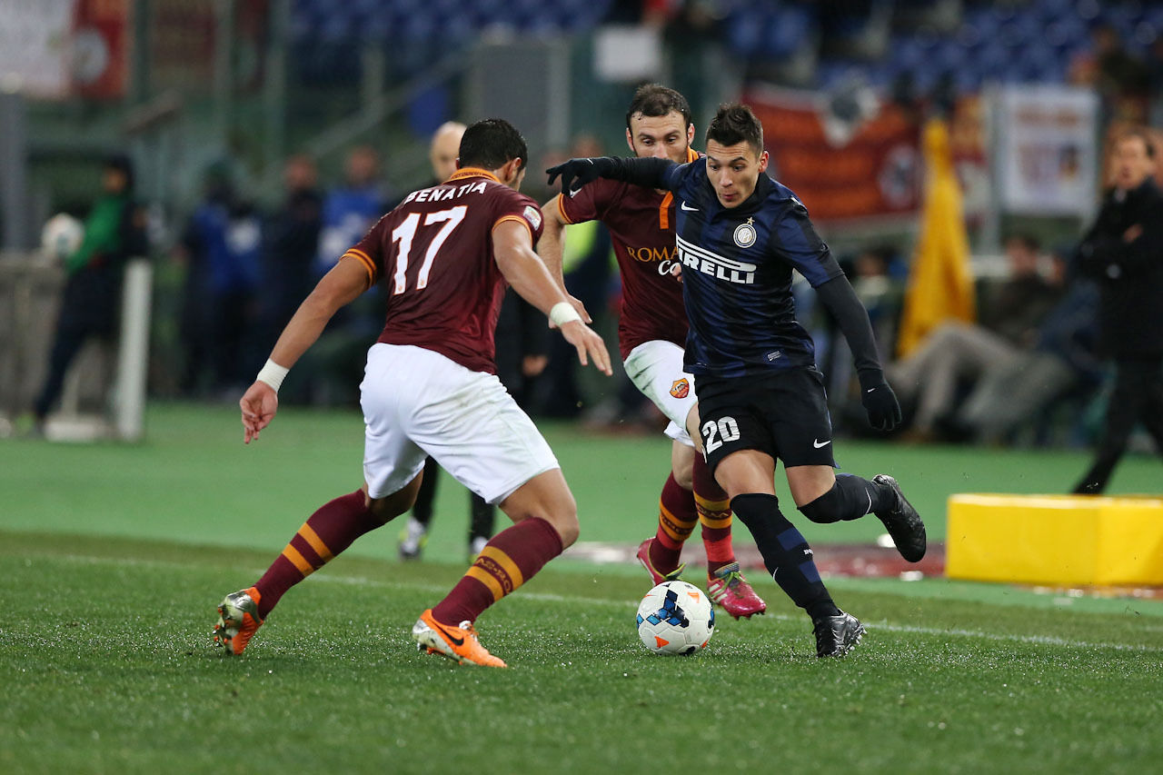 Roma v Inter in pictures