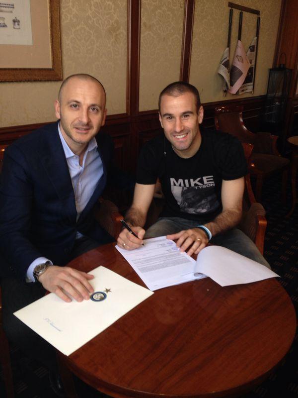 L'Inter e Palacio, insieme fino al 2016