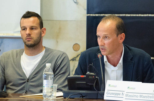 Samir Handanovic per la 'Lazio Cup 2014'