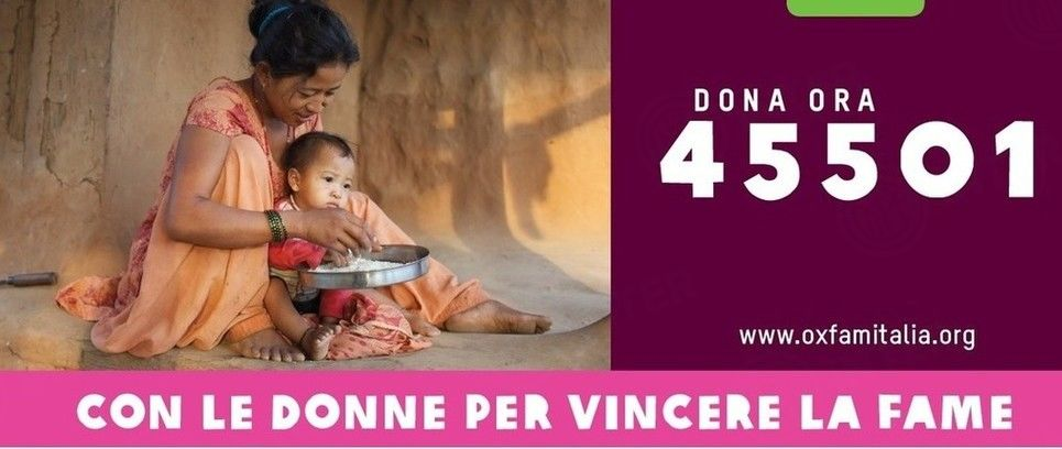 Oxfam together with women to defeat hunger