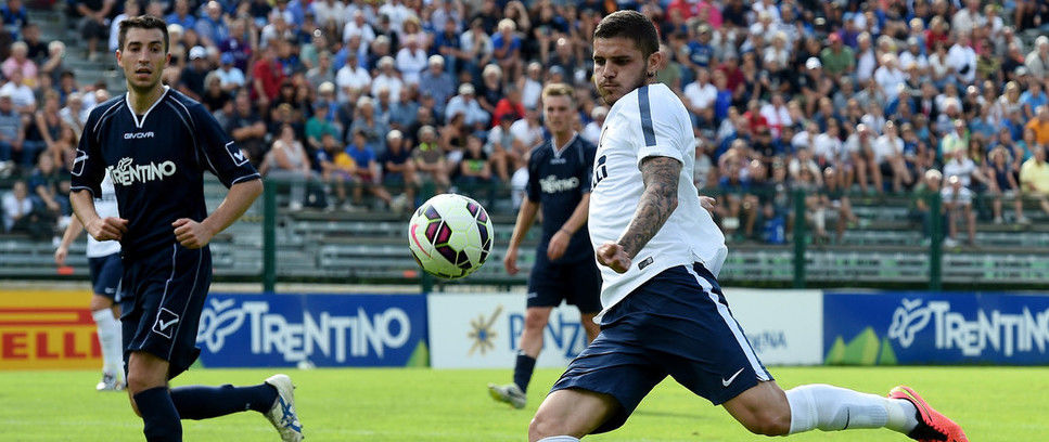 Inter hit six in first pre-season friendly