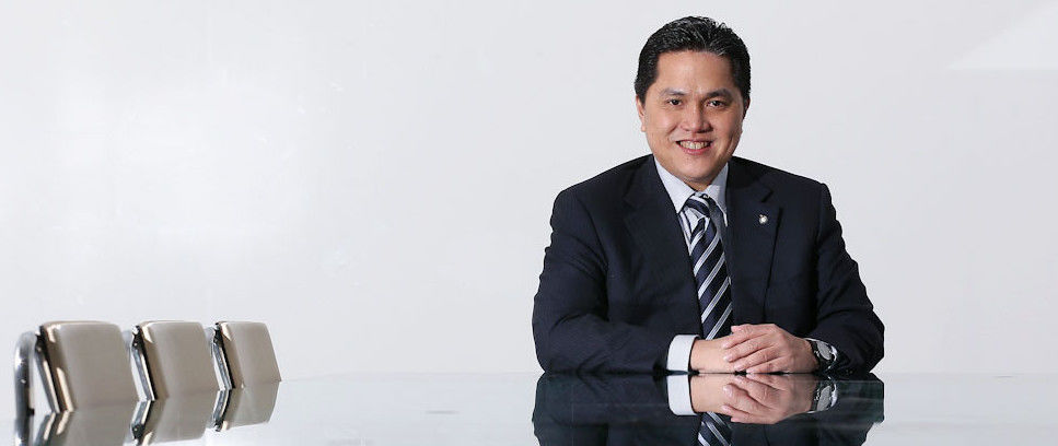 "Erick Thohir: ""Happy with the team we've built"""