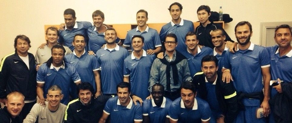 Inter Forever with football legends in Kazakhstan