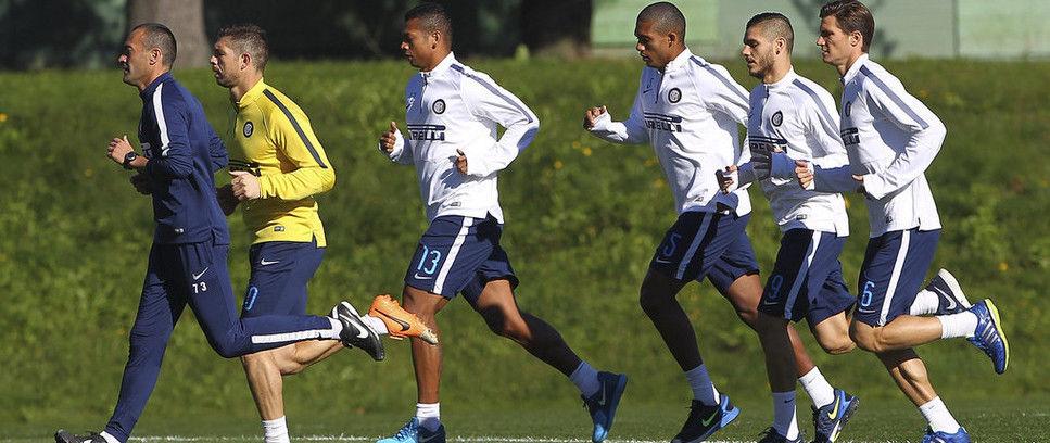 Skuat Inter Jalani Sesi Latihan Jumat Pagi