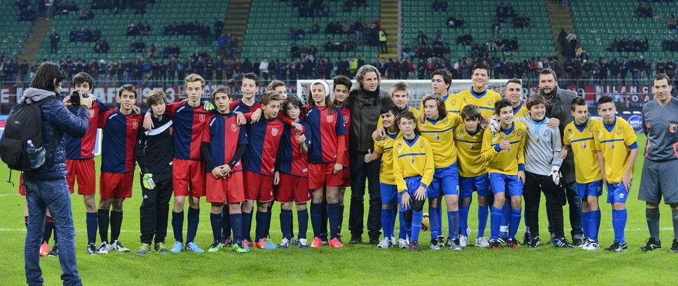 Francesco Colonnese per la Junior Tim Cup 2014/15