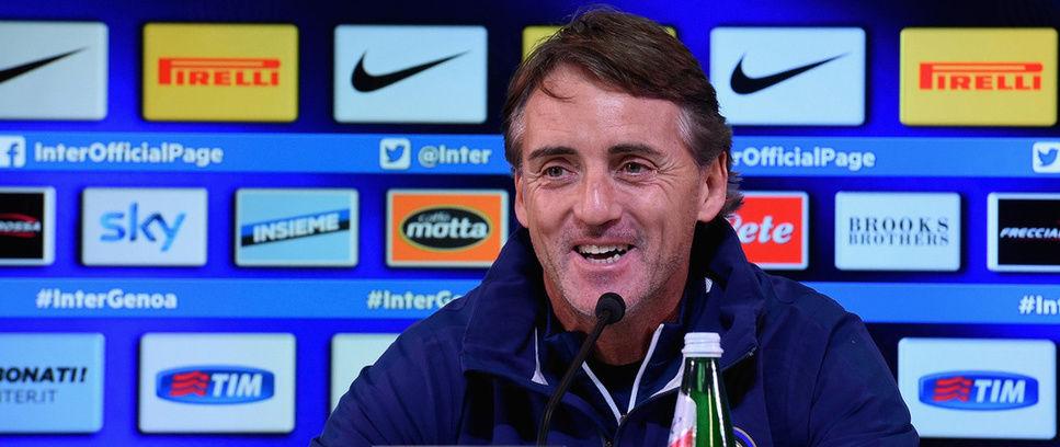 """Mancini: """"Nel mondo pochi club come l'Inter"""""""