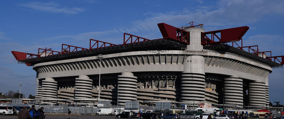 Inter v Fiorentina, Jam Buka Stadion
